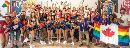 PrideHouse Toronto has announce dplans to make the Toronto 2015 Pan Americna Games the most inclusive ever ©PHTO