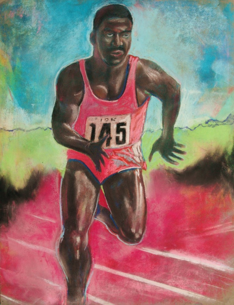 Prior to being busted for doping, athletes, such as Ben Johnson, can be huge inspirations to the world, both sporting and non-sporting ©RoaldBradstock