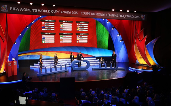 Prize money for the FIFA Women's World Cup, the draw for which took place at the Canadian Museum of History in Gatineau earlier this month, will be higher than ever before ©AFP/Getty Images