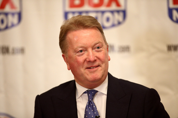 Promoter Frank Warren believes that boxing is connecting with a new, younger audience ©Getty Images