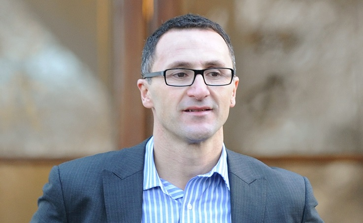 Richard di Natale has tabled the motion for holding a full Senate investigation into the Australia 2022 World Cup bid ©Getty Images