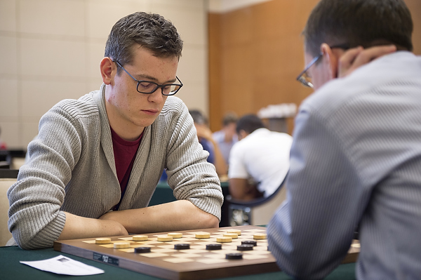 Roel Boomstra showed further impressive form today to secure gold in the men's rapid draughts contest ©SportAccord
