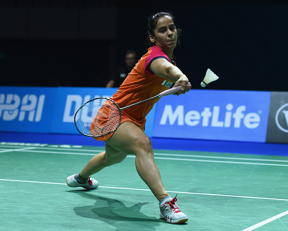 Saina Nehwal missed out on a place in the women's singles final ©Getty Images
