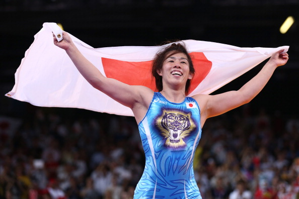Saori Yoshida, arguable the greatest female wrestler of all time, is one of the ambassadors in the Super 8 campaign ©Getty Images