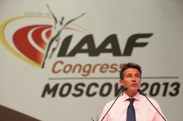 Seb Coe announced his candidacy for President of the IAAF where he will battle with Ukrainian Sergey Bubka ©Getty Images