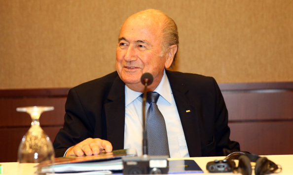 Sepp Blatter had been expected to protest about the IOC rule which means he will have to step down when he reaches 80 in 2016 ©Getty Images