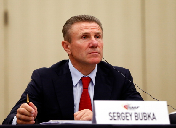 Sergey Bubka will be in the race with Seb Coe to become the new President of the IAAF ©Getty Images