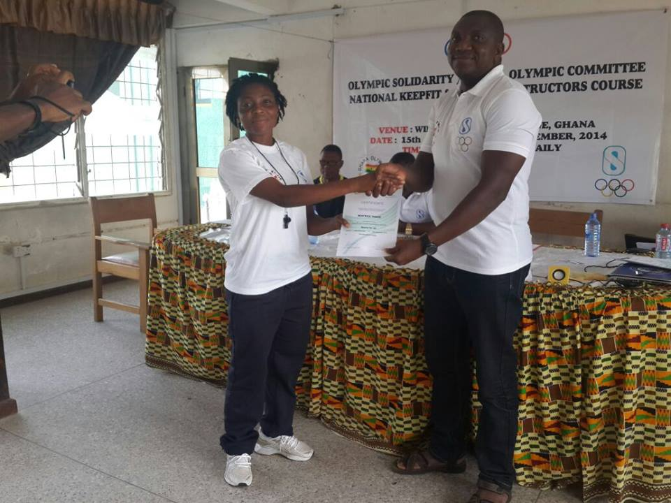 Several training courses have been run by the Ghana Olympic Committee this month ©GOC
