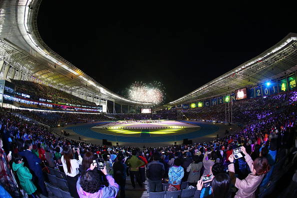Sheikh Ahmad Al-Fahad Al-Sabah says the OCA can't afford to dwell on the highlights of 2014, including the 17th Asian Games in Incheon ©Getty Images