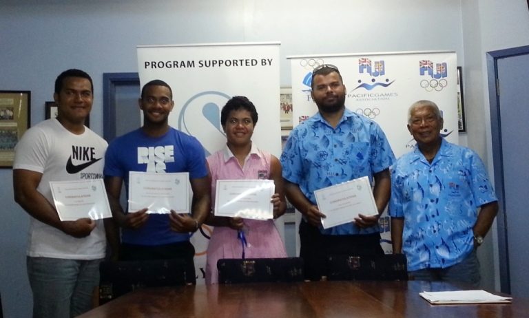 Six Fijian athletes have been awarded IOC scholarships in their bid for Rio 2016 qualification ©FASANOC