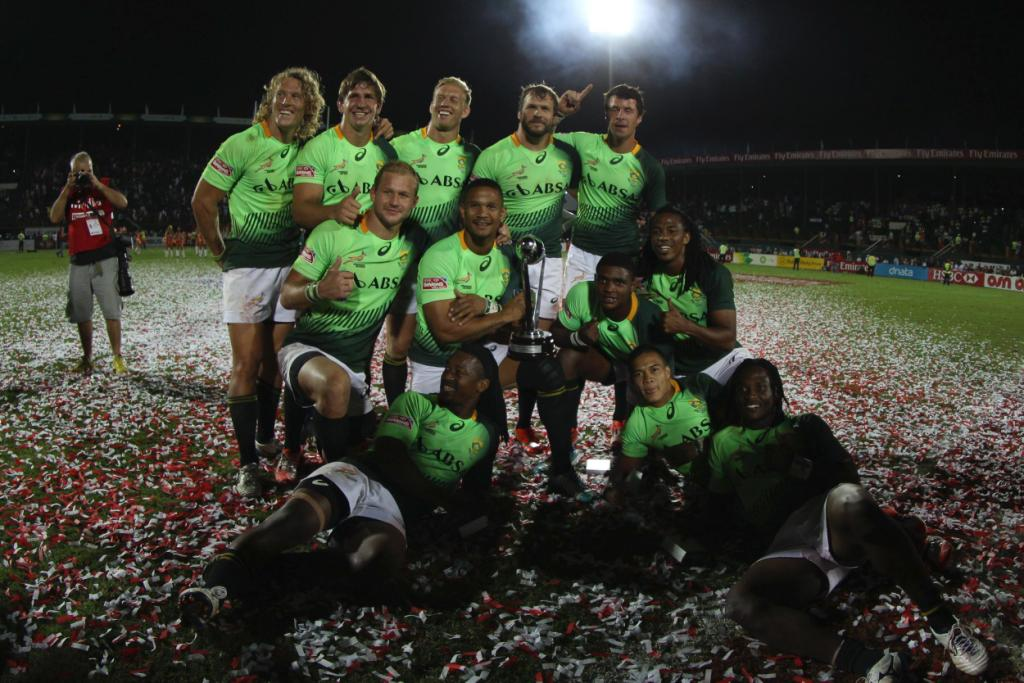 South Africa have won the Emirates Airline Dubai Sevens ©WorldRugby