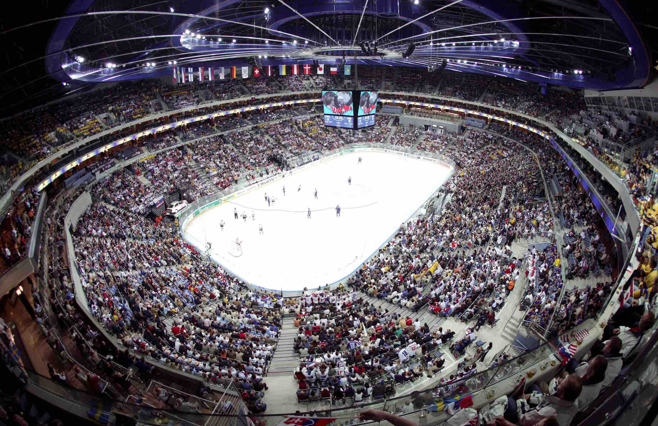 Sportradar will monitor a total of three flagship tournaments per year from 2015 to 2017 for the IIHF ©Sportradar