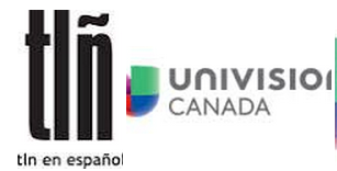 TLN are partnering with Univision Canada to provide the Toronto 2015 coverage ©TLN/Univision Canada