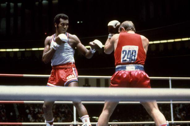 Cuba's three-time heavyweight gold medallist Teófilo Stevenson is Cuba's greatest Olympian ©Hulton Archieve/Getty Images