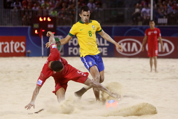 The 2017 Beach Soccer World Cup will be the first time the Caribbean region has hosted a senior FIFA tournament ©Getty Images