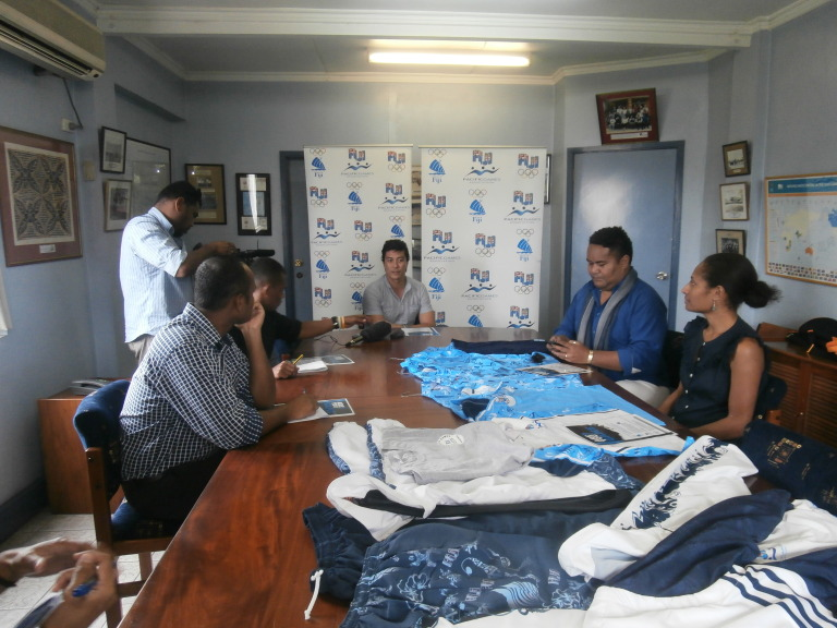 The Fiji Association of Sports and National Olympic Committee is calling on local designers to create the march out and ceremony uniforms for the country's athletes ©FASANOC