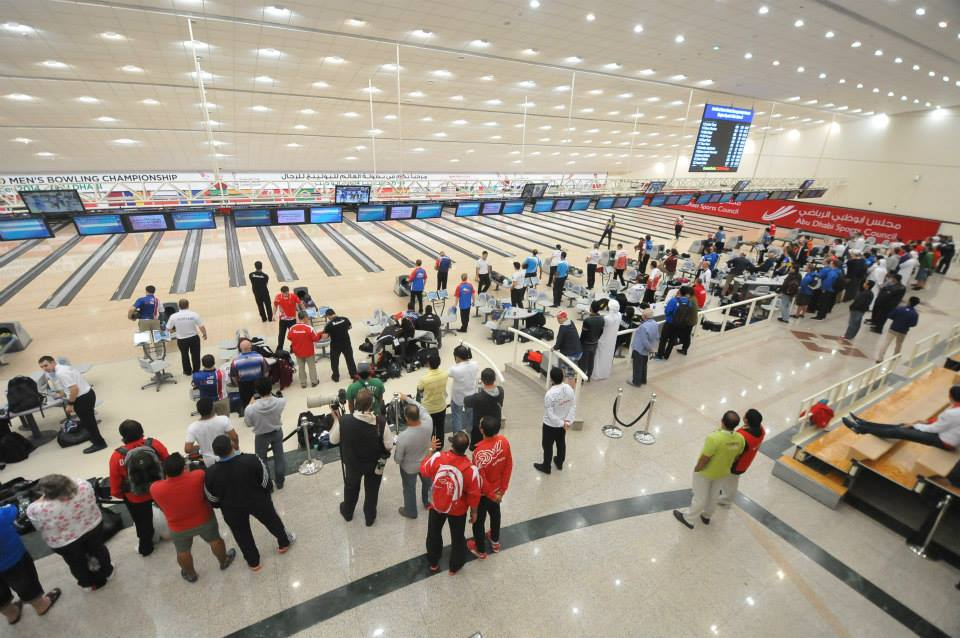 The Khalifa International Bowling Centre in Abu Dhabi's Zayed Sports City is the venue for the 2014 World Bowling Men's Championships ©World Bowling