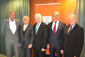 The Netherlands are considering a bid to host the 2019 European Games ©NOC NSF