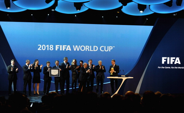 The Russia 2018 Organising Committee is relying on private donations from individuals to balance the books ©Getty Images