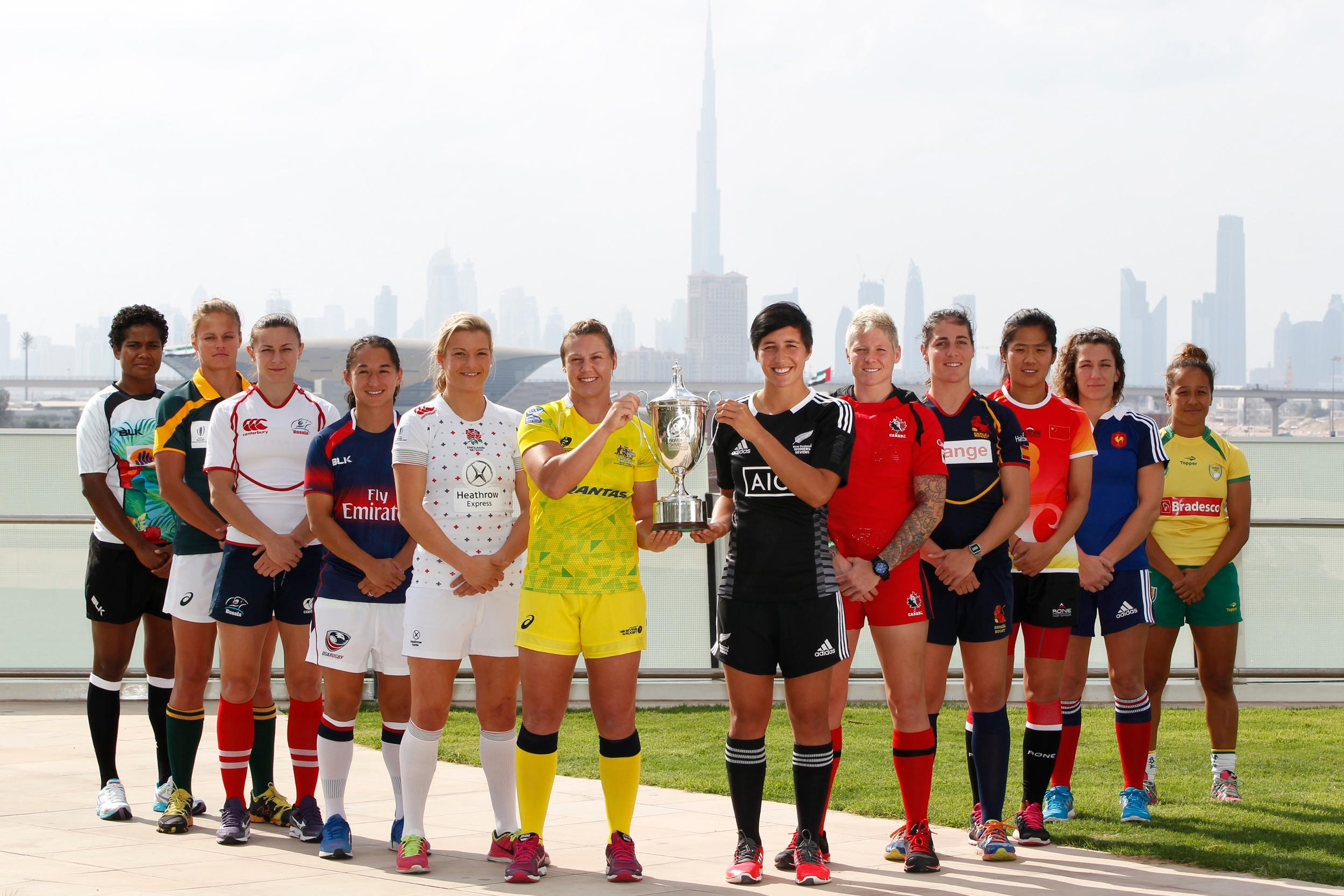 The Women's Sevens Series is set to get underway in Dubai tomorrow ©World Rugby