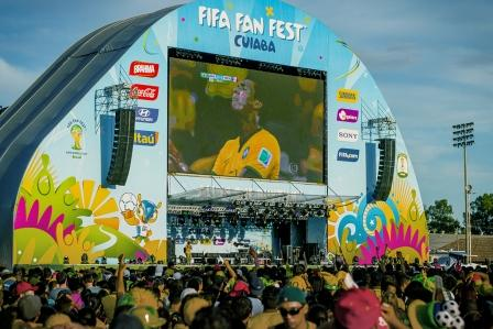 The Works has designed the looks for a series of major international sporting events including the 2014 FIFA World Cup in Brazil ©The Works