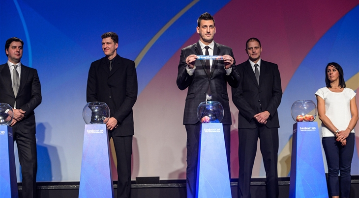 The draw for EuroBasket 2015 has been made ©FIBA
