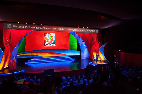 The draw for the 2015 FIFA Women's World Cup took place at the Canadian Museum of History in Ottawa ©Getty Images