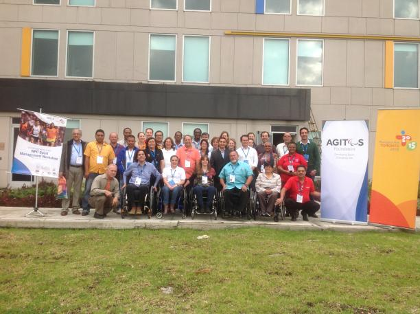 The first workshop of The Road TO2015: Agitos Foundation took place in in Bogota, Colombia in December 2013 ©IPC