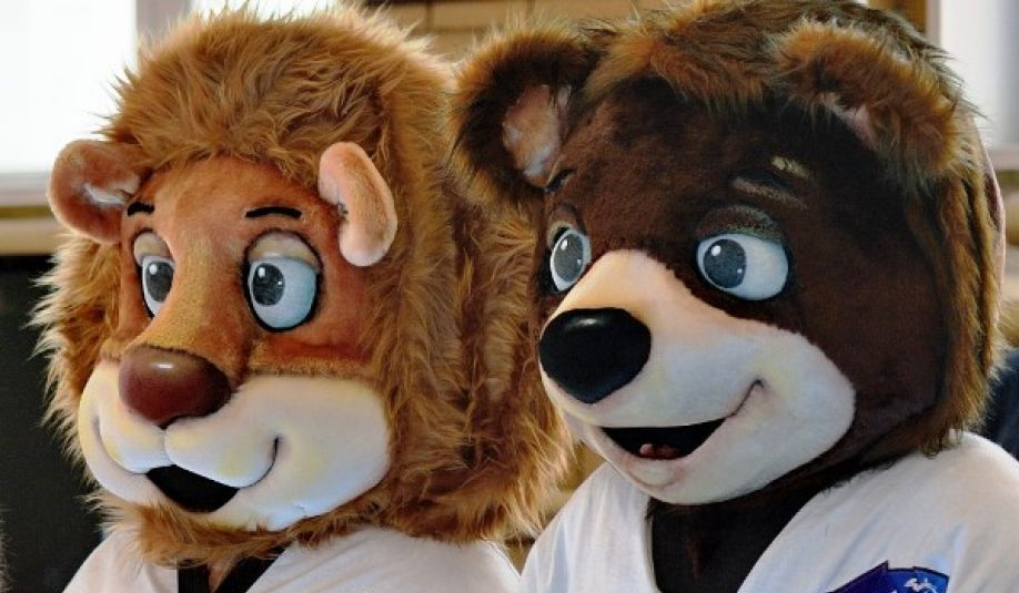 The mascots for the 2015 World Taekwondo Championships have made their first life-size appearance ©World Taekwondo 2015