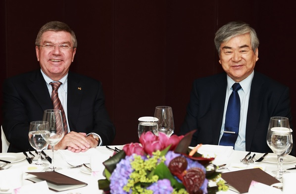 Thomas Bach revealed Pyeongchang 2018 President Cho Yang-ho requested more time to make necessary changes following his appointment ©Pyeongchang 2018