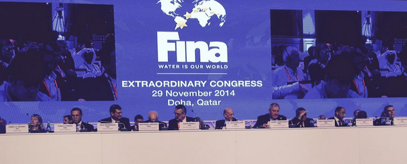 Three new members were added to FINA during a meeting ahead of the Extraordinary Congress in Doha last month ©FINA
