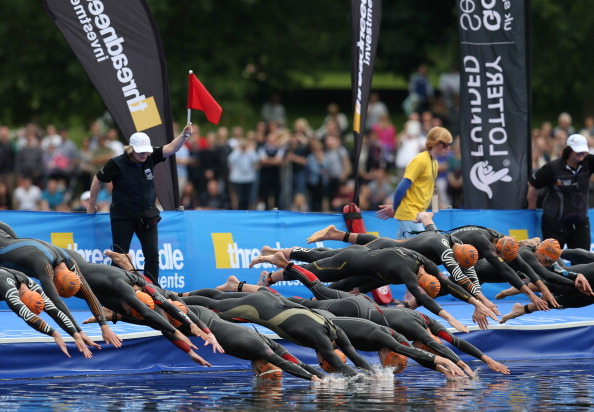 Triathletes will ultimately be the main beneficiaries of the partnership between the International Triathlon Union and Swim Smooth ©Getty Images