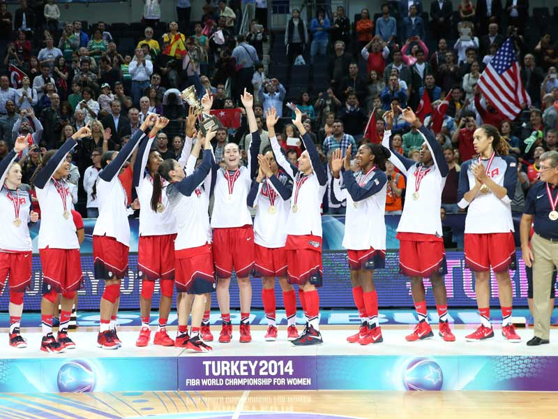 Turkey hosted a successful 2014 Women's World Championships, won by the United States, and is now bidding for the Men's World Cup in 2019 or 2023 ©Getty Images