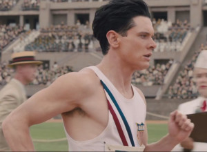 Unbroken, a film about 1936 American Olympian Louis Zamperini directed by Angelina Jolie, has proved an early box-office hit ©Universal Studios