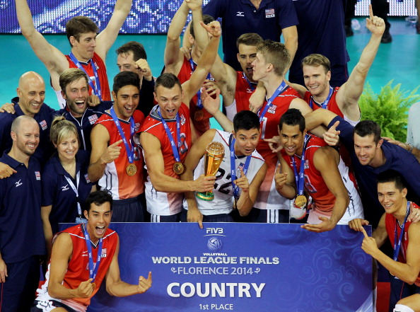 United States will be seeking a repeat of their 2014 triumph at the 2015 FIVB World League ©Getty Images