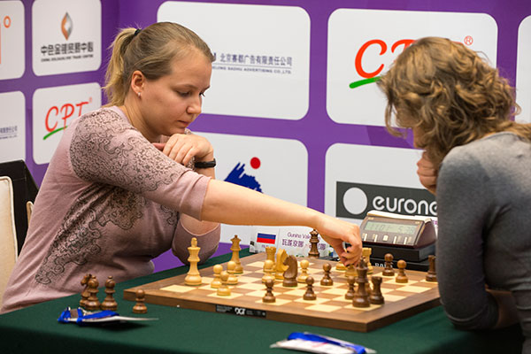Valentina Gunina proved too good on the second day of chess action at the World Ming Games in Beijing ©SportAccord