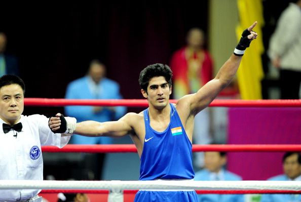 Vijender Singh and other top Indian boxers have said they will participate at the National Games ©Getty Images