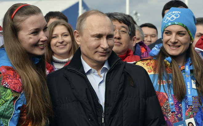 Vladimir Putin has claimed that Sochi 2014 surpassed even Russia's expectations ©Getty Images
