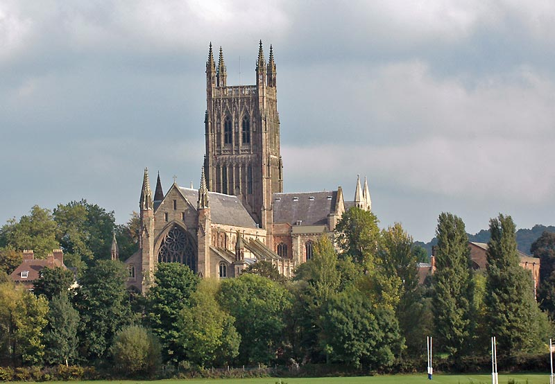Worcester Cathedral has been chosen as the host venue for the 2015 European Wheelchair Basketball Championships ©Getty Images