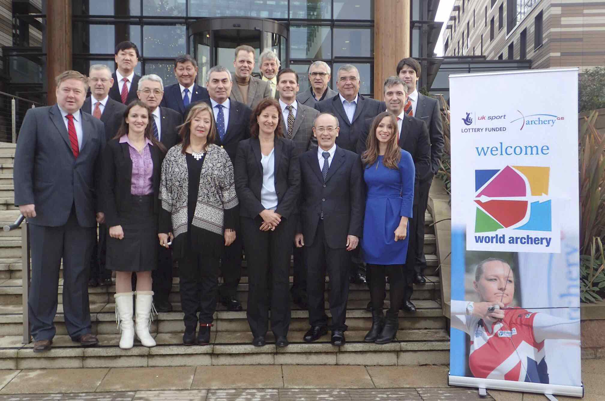 World Archery's Executive Board met in Nottingham this weekend ©World Archery