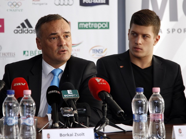 Zsolt Borkai spoke enthusiastically about the prospect of a Budapest bid for the 2024 Olympics ©Hungarian Olympic Committee