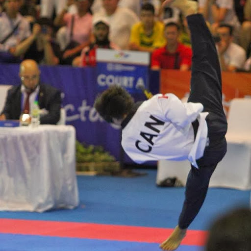 Charlie Chong made history when he won the first-ever world poomsae title at Tunja ©YouTube