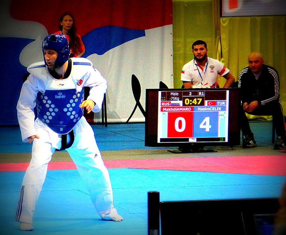 Turkey's Haşim Çelik was disappointed with his bronze medal at the 5th WTF World Para-Taekwondo Championships in Moscow but has vowed to bounce back stronger ©Facebook