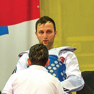 Haşim Celik: Inspired to take up taekwondo by an Olympic champion