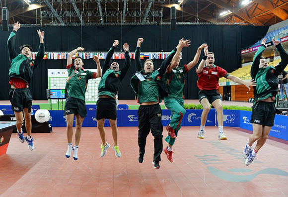 European champions Portugal will have a major opportunity to excel in Baku ©ETTU