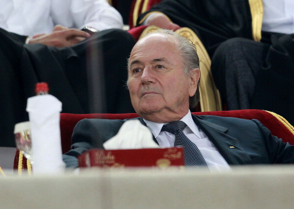 FIFA President Sepp Blatter has claimed he would be against the 2022 World Cup in Qatar clashing with the Winter Olympics but refused to rule it out ©Getty Images