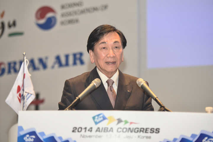 AIBA President CK Wu has completed the appointment of members, including the chairs, of 11 AIBA Commissions ©AIBA