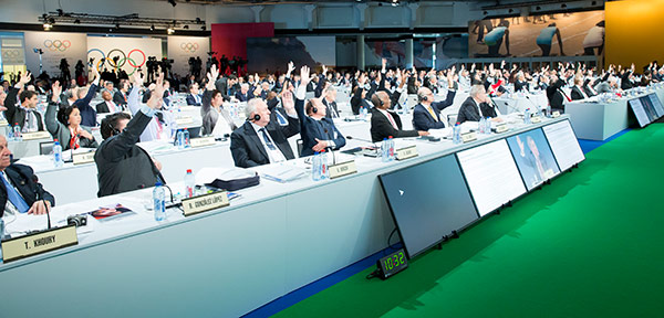 A commitment to improved sporting participation was among the IOC's 40 Agenda 2020 recommendations approved last month ©IOC