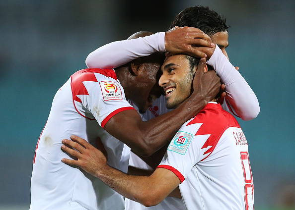 A long-range strike from Sayed Ahmed Jaafar eight minutes from time gave Bahrain their first win of the Asian Cup ©Getty Images