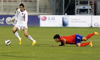 Ahmad Hayel reportedly developed hypothermia as a result of a poorly conducted doping test according to the Jordanian FA